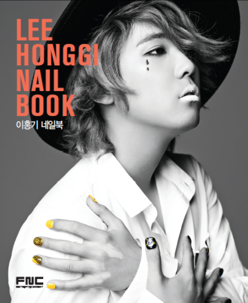 Lee Hong ki nail book