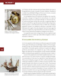 El encuentro de América y Europa - Historia 6to Bloque 5 2014-2015