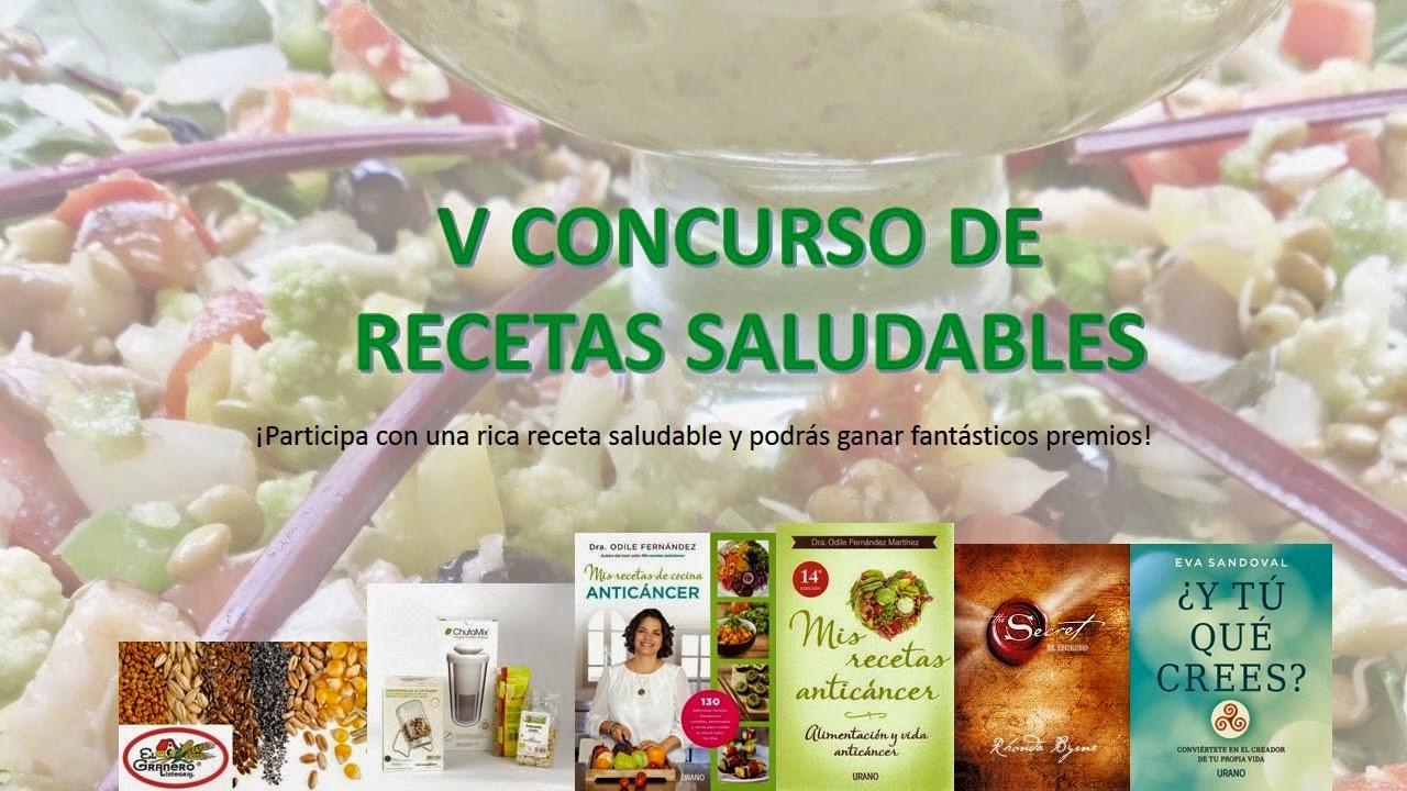 Concurso Recetas Saludables