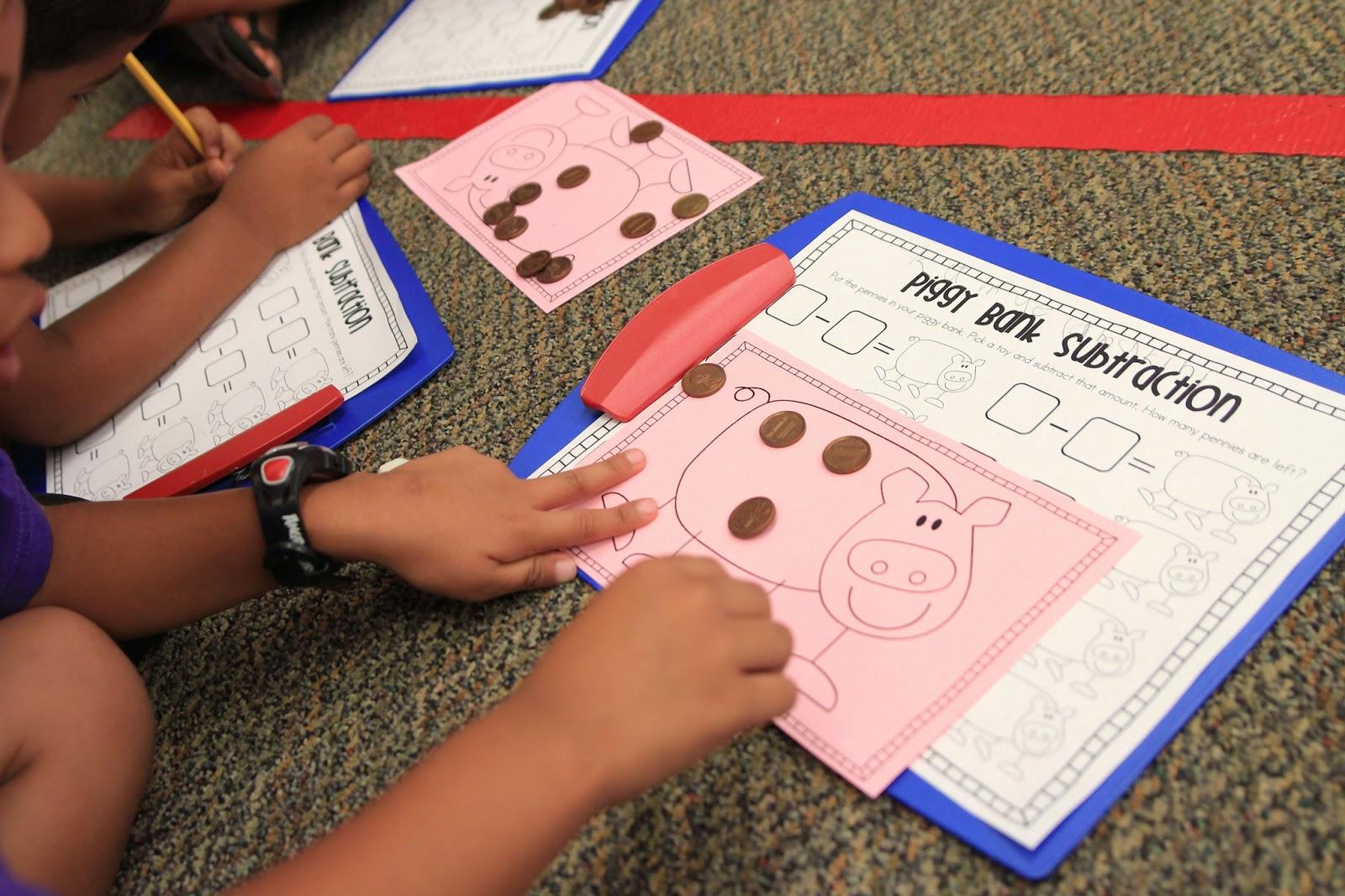 Worksheet Teaching Subtraction In Kindergarten mrs riccas kindergarten subtraction action freebies