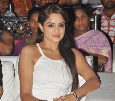 Glamrous Asmitha sood hot photos in short dress at audio launch