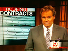 "TV News Report - Oklahoma:  ""Oklahoma Lawmakers Debate Over Roofing Contracts"""