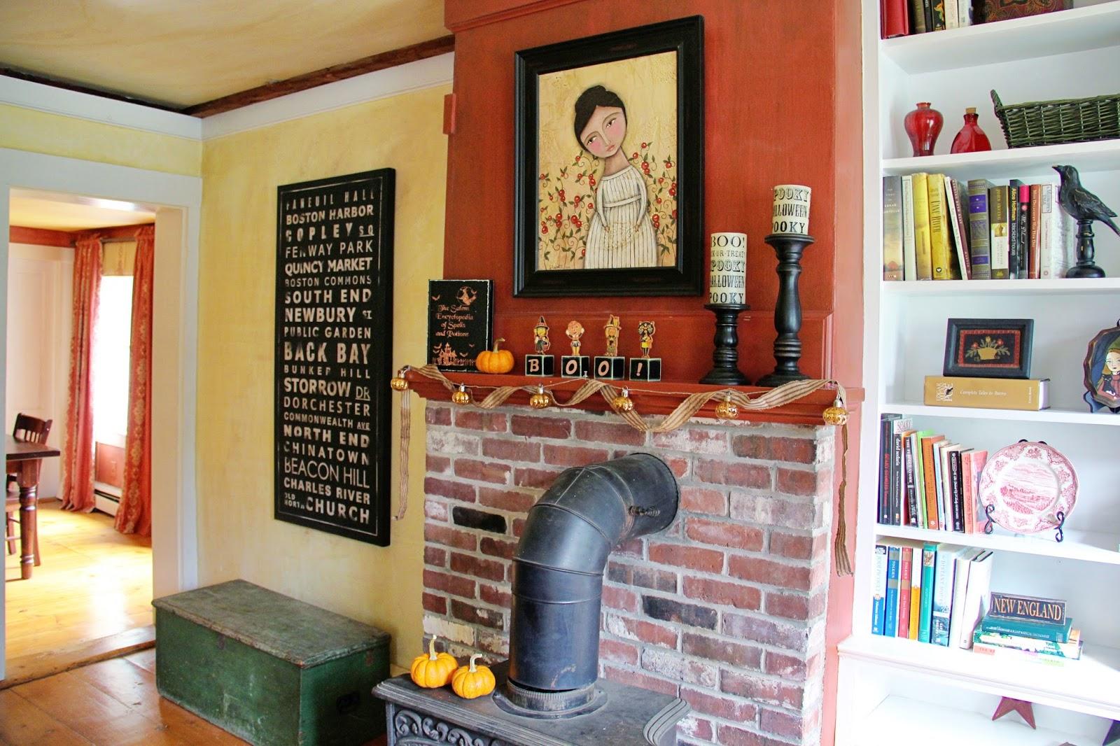 New England Living Room New England Living Halloween House