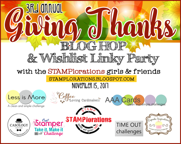 Giving Thanks Blog Hop/LInky Party