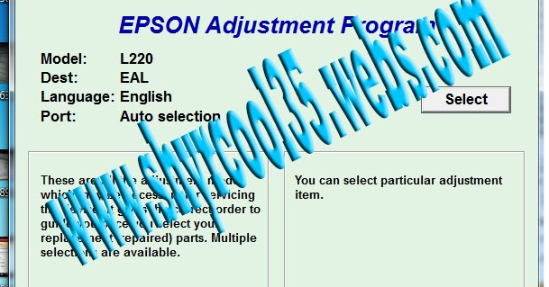Epson Adjustment Program Download L220