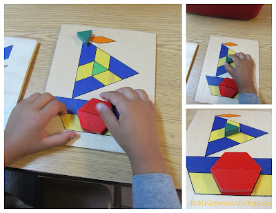 photo of: building with pattern shapes and blocks from model
