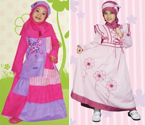 baju muslim anak perempuan keke terbaru