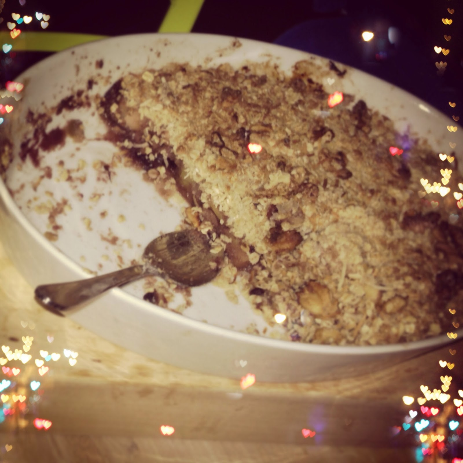 Skinny Sweets and Treats: Healthy Apple Blueberry Crumble