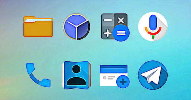 WaterColors v1.0.5 APK - Icon Pack For Android