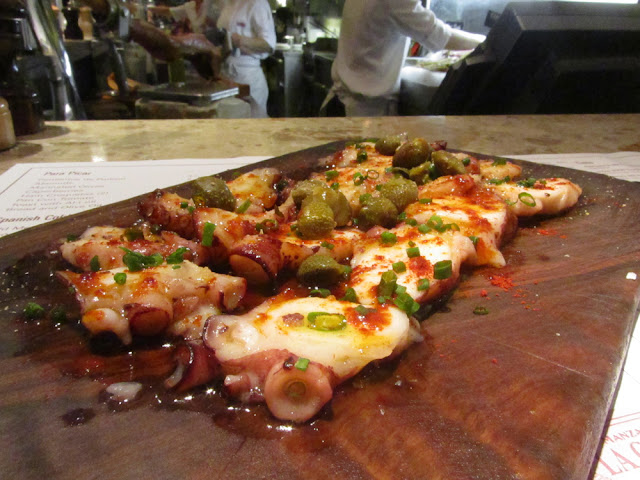 octopus con capperi