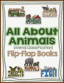 http://www.teacherspayteachers.com/Product/Animal-Flip-Flap-Books-Animal-Classification-Expository-Writing-Resources-984897