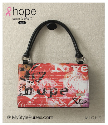 Miche Bag Red Hope Classic Shell