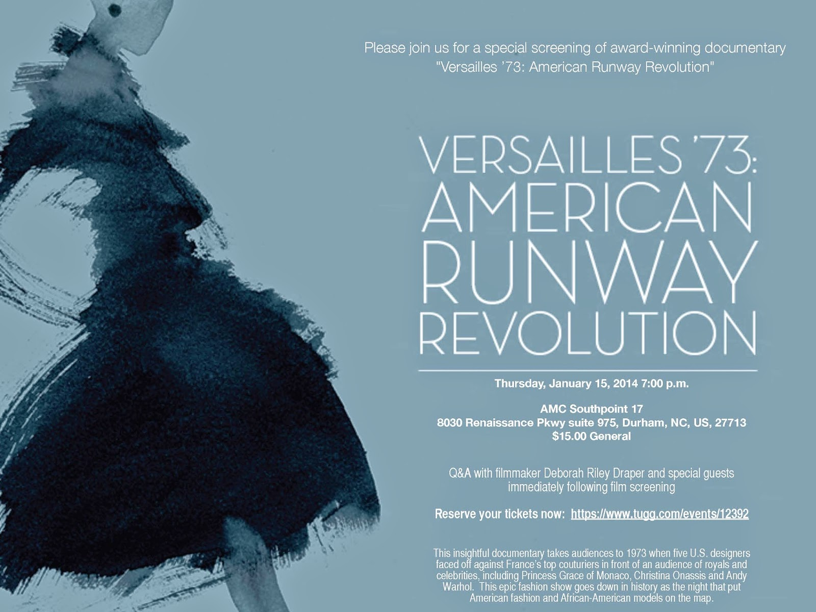 Versailles 73: American Runway Revolution Screening