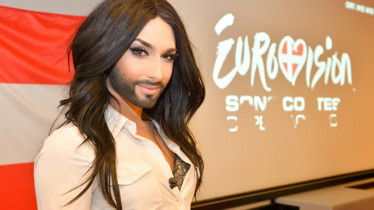 A Bearded Drag Queen Wins Eurovison Song Competition