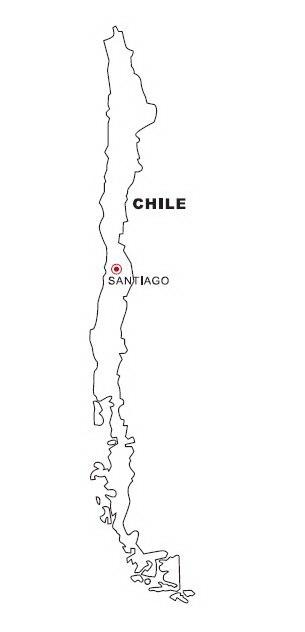 COLOREA TUS DIBUJOS: Mapa de Chile para colorear