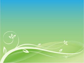 緑の植物の背景 Abstract floral background vector graphic