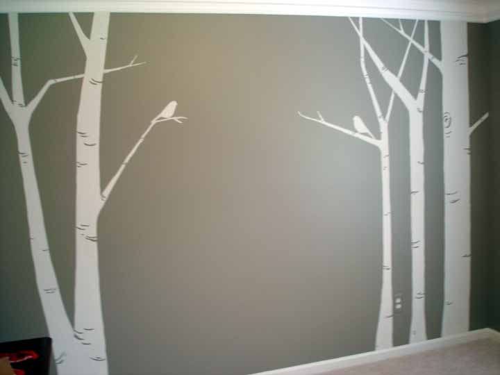 1000 ideas about birch tree mural on pinterest tree for Birch trees wall mural