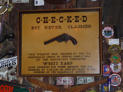 Wyatt Earp's Gun at the Red Dog