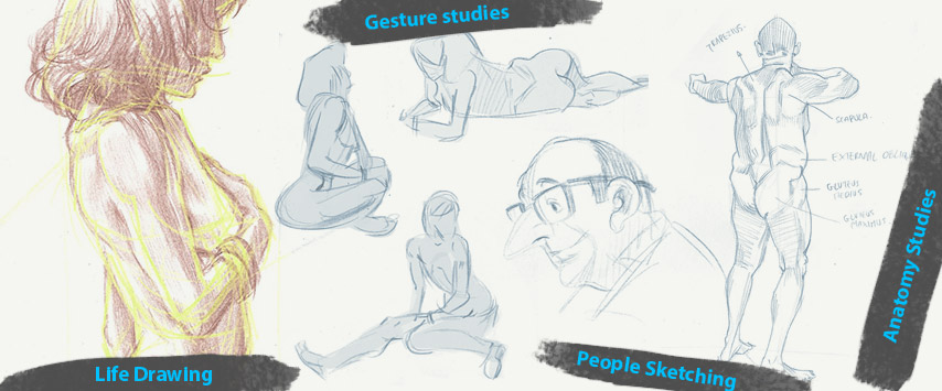 Life Drawing Dublin