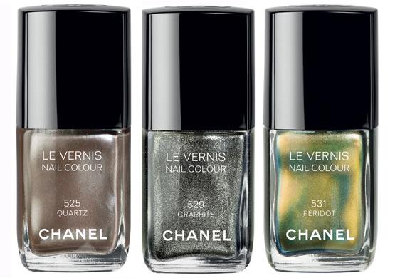 lacas de uñas Chanel 2011
