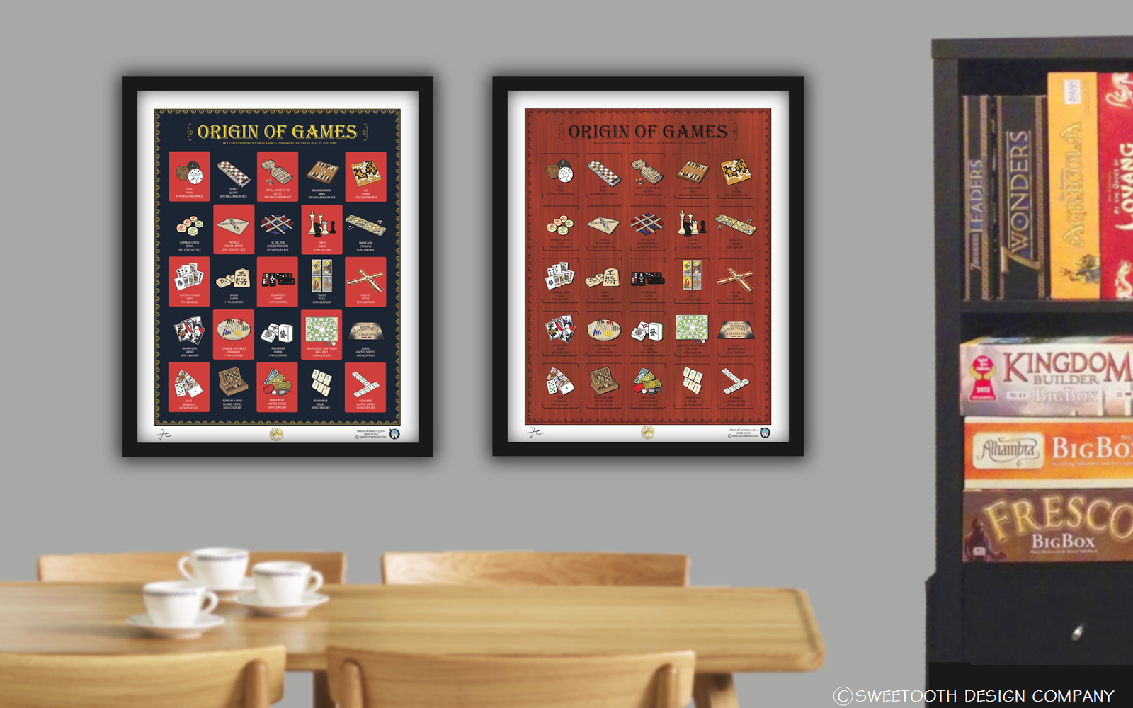 https://www.kickstarter.com/projects/sweetoothdesign/origin-of-games-illustrated-poster-of-classic-game