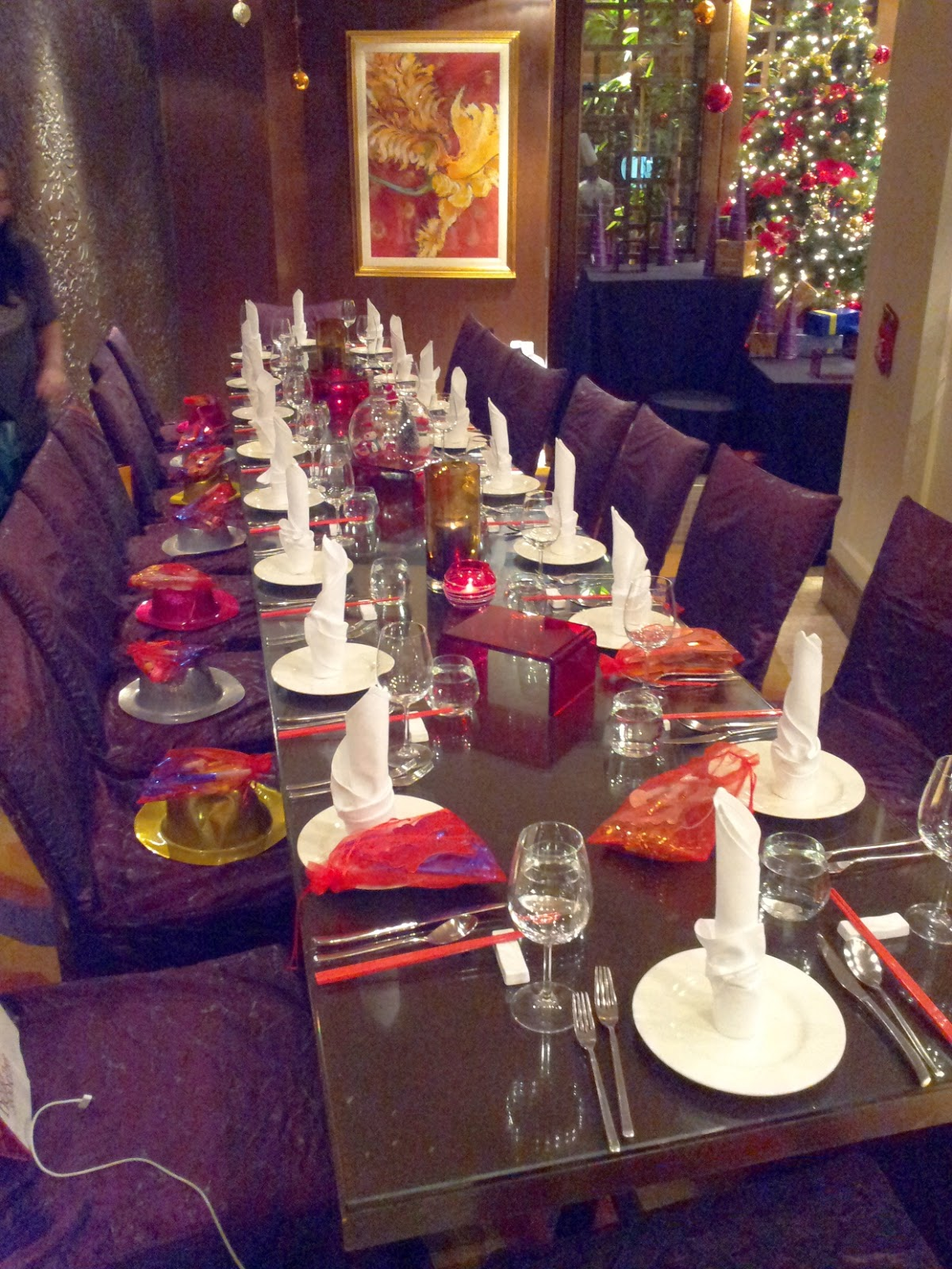 Essence Restaurant Sheraton Imperial Hotel Fine Dining Christmas Eve Buffet Free Flow