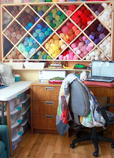 Perfect Check Out This Cool Wood Working Job For Yarn Storage From Easy Makes Me  Happy