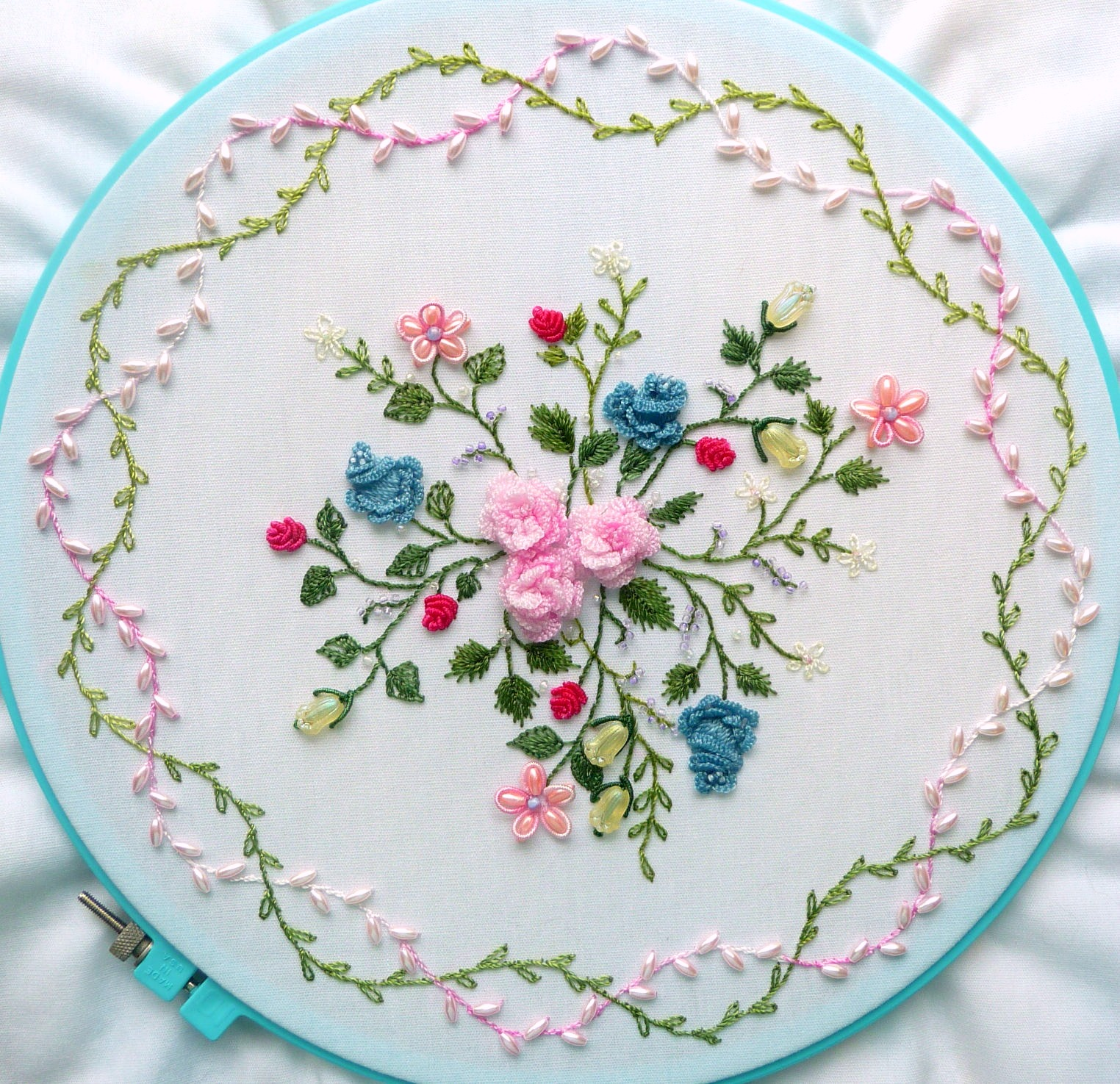 Ribbon embroidery flowers download