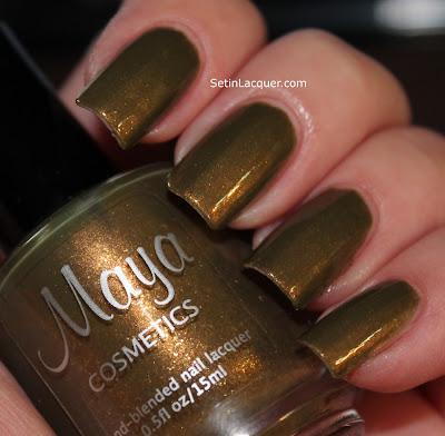 Maya Cosmetics Hex nail polish