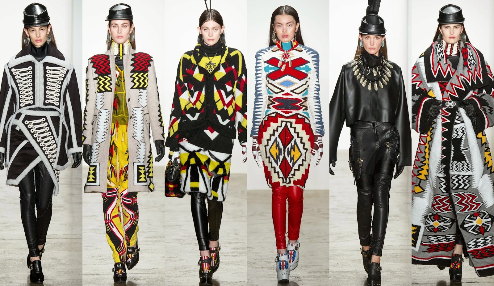 Stylefluid Trendz Ktz Fall Winter 2015 Primal Instinct New York Fashion Week