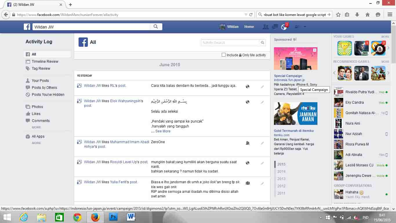 log into facebook facebook - HD1366×768