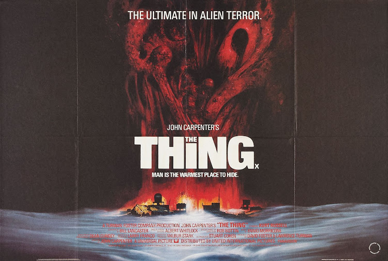 John Carpenter The Thing movie poster