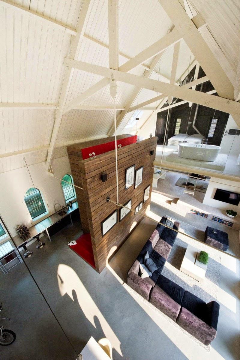 Iglesia Holandesa convertida en un lujoso Loft