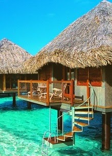 """In need of some relaxation - Tahiti is the place to be"""