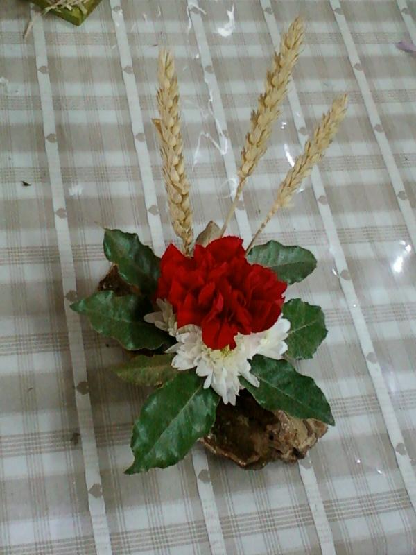Fleurs plantes etc bain de mousse - Centre de table restaurant ...