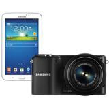 SAMSUNG MIRRORLESS DIGITAL CAMERA NX2000 + SAMSUNG GALAXY TAB