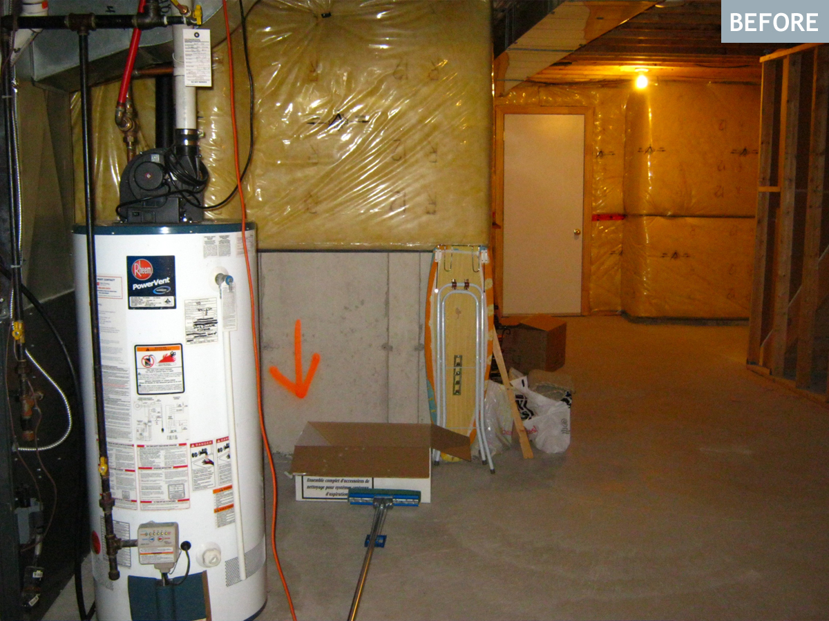 how to build a cold room in your basement