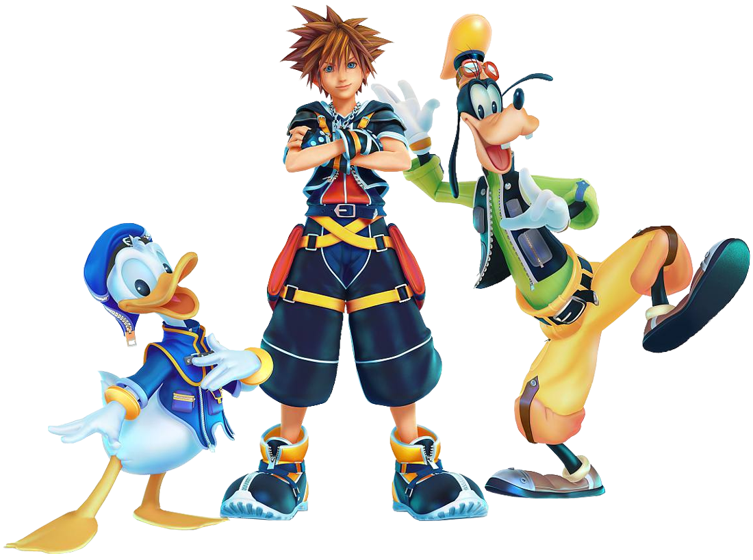 sora donald goofy kingdom hearts 3