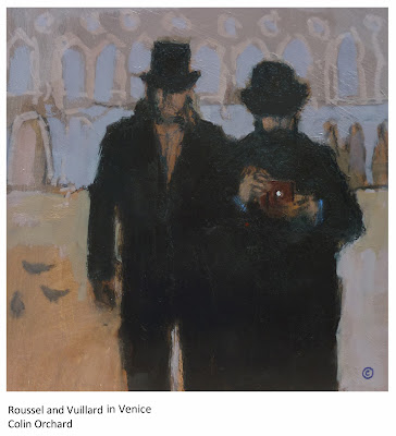 Roussel and Vulliard in Venice, a painting by Colin Orchard