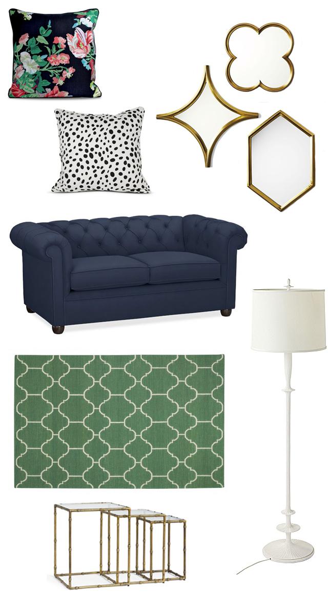 eclectic living room inspiration via M Loves M @marmar
