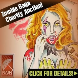 Zombie Gaga Charity Art Auction!!