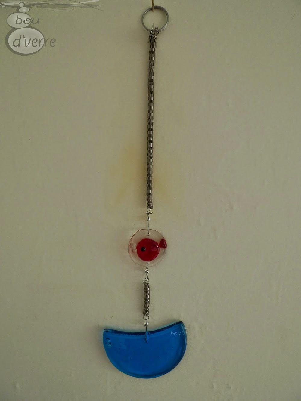 Bou d 39 verre fusing thermoformage bijoux d co arts de for Acheter poisson rouge grenoble