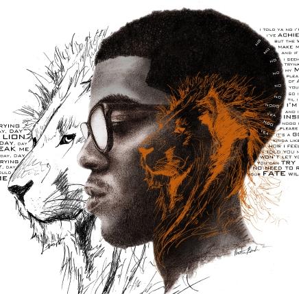 Kid Cudi Heart Of A Lion