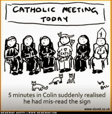 image: catholic meeting today