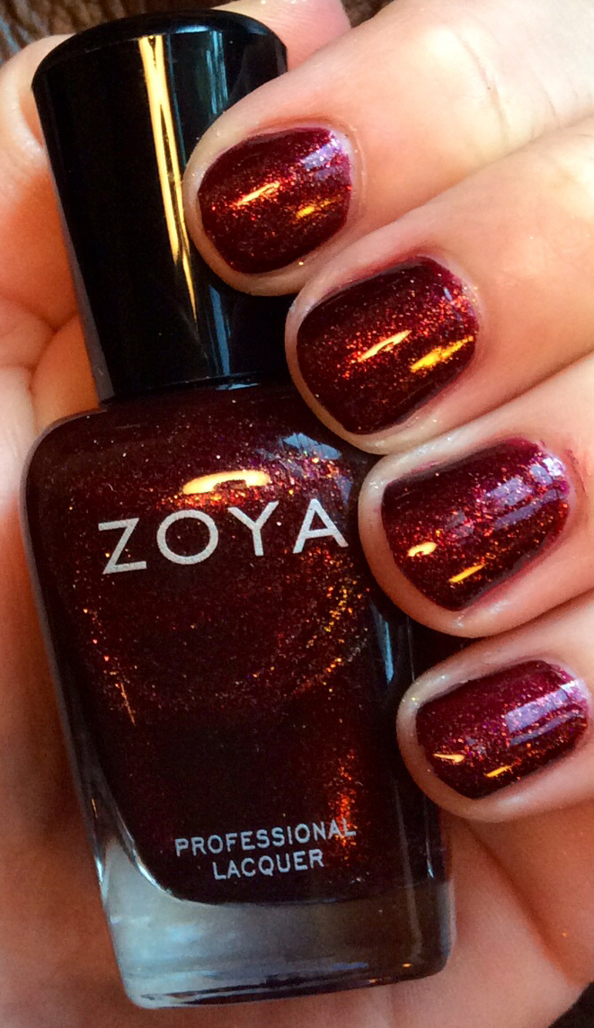 Zoya Ignite Collection Fall 2014 Nail Polish Autumn
