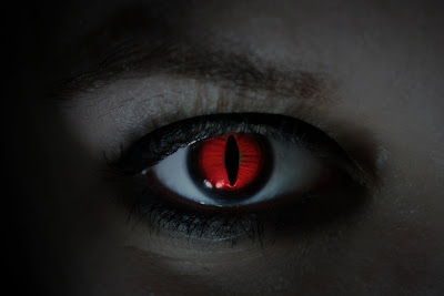 HD Red Devil Eye