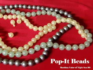 Retro Pop-It Beads; Night Sea 90.