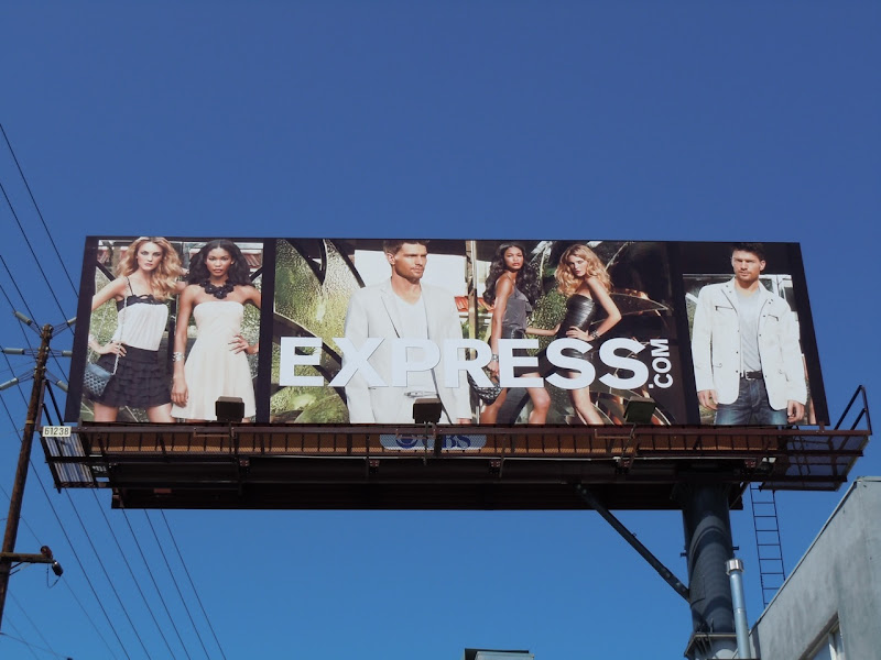 Express April 2010 billboard