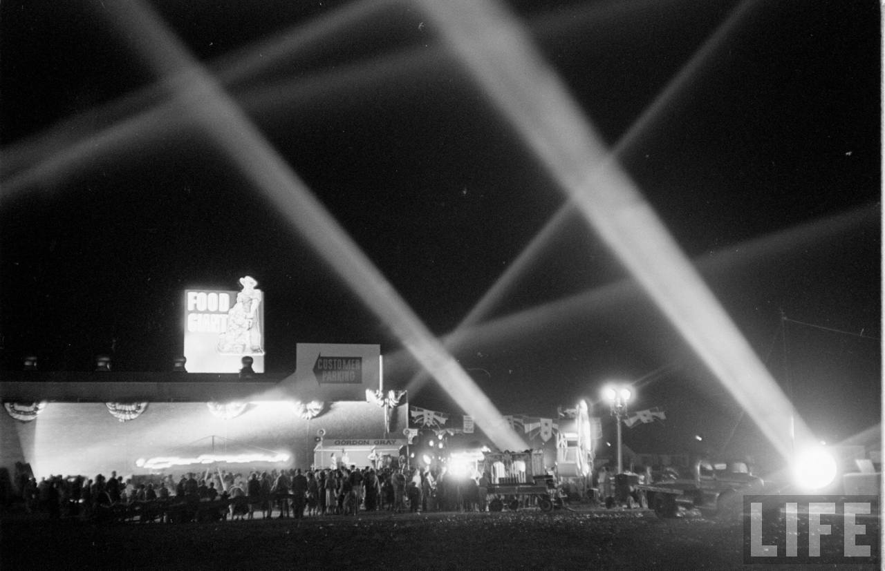 food giant grand opening 1951