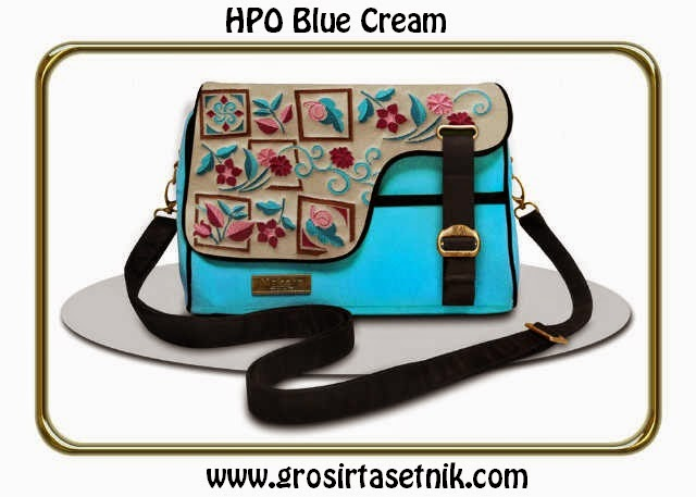 model terbaru makara etnik HBO cream blue 2015
